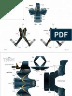 Tron Clu Lightcycle Papercraft Printable FDCOM4