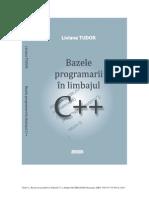 Book Basics of Programming in C++ Tudor 2010