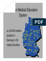 German Medical Education System