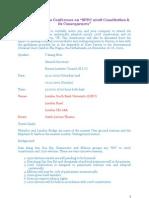 Invitation Letter  to Burma Conference in London