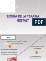 teoria de la terapia  GESTAL.pps