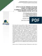 Aplicação da produção mais limpa no processo de clarificação do caldo de cana.pdf