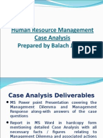 Case Analysis Methodology by Sir Balach Jamali