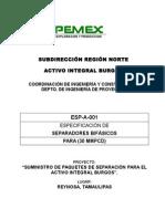 ANEXO Especificaciones Separadores.doc