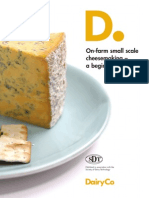 On Farm Small Scale Cheese Making a Beginners Guide
