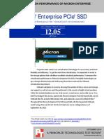 VMmark virtualization performance of Micron Enterprise PCIe SSD-based SAN