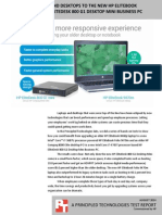 Upgrading laptops and desktops to the new HP EliteBook Folio 9470m and HP EliteDesk 800 G1 Desktop Mini