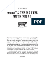 What's the Matter With Beef?