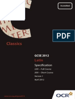 Latin Specification GCSE.pdf