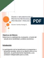 Diseño e implementación de Proyectos Nutric ionales 1 sept.ppt