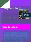 Migración 1. Ps. Jaime Botello Valle