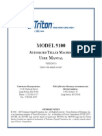 Triton 9100 ATM User Guide