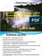 Module 1- Hydrological Cycle-1