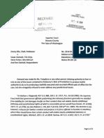 Clark Madatory Judicial Notice to Ms Tompkins