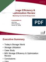 StorageYour Current Storage Assets Maximizing Optimization