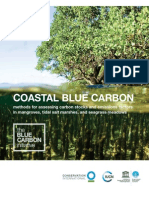 coastal blue carbon- methods for assessing carbon stocks and emissions factors in mangroves tidal salt marshes and seagrass meadows