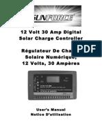 Solar Controller 60032_30AmpDigital