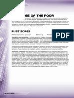 Everyone Else Friday - Diseases of the Poor