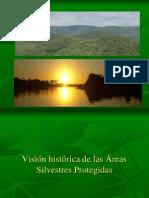 Visión histórica de las Ã-reas Silvestres Protegidas.pptx
