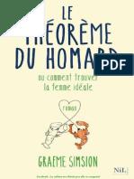 Le Theoreme Du Homard - Graeme Simsion.pdf