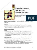 Comparing Folktales and Tall Tales Lesson