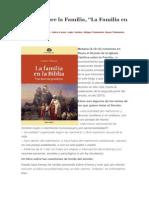 """Sínodo sobre la Familia, """"La Familia en la Biblia"""".docx"""