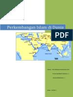 Perkembangan Islam Di Dunia