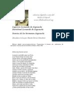 Argensola Bartolomé y Lupercio - Sonetos.doc