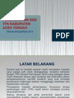 Perencanaan Ded Tpa Kabupaten Aceh Tengah