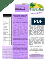 Newsletter December 2009 2