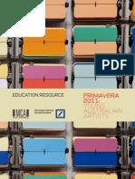 education resource - primavera