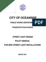Street Light Manual