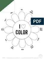 colorwheel coloring sheet