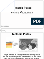 picture vocabulary tectonic plates