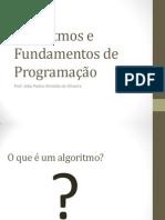 Algoritmos e Fundamentos de Programação - Aula1.pptx