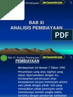 BAB XI. Analisis Pembiayaan