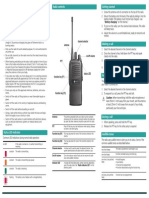 TP7110 Conventional Radio User Guide