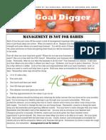 Goal Digger / Volume 5 / 2009