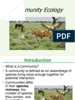 Lecture 19 - Community Ecology