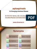 Leptospirosis by Dr Sarma.ppt