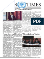 The MUN Times 2014 Issue 1
