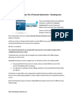 02 Financial Statements Case Study