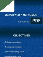 AHD - Neuro-opthalmology - V. Patel - NYSTAGMUS