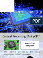 cpu control unit alu