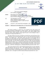 09-36 FOIA Policies and Procedures