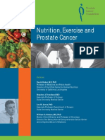 Nutrition, Exercise and Prostate Cancer