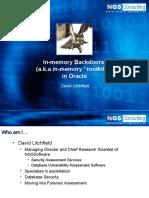 Oracle Backdoors[2]