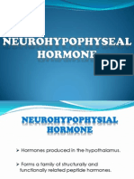 Neurohypophysial Hormone