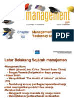 Bab 2 - Management Yesterday and Today