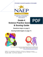 Grade4 Samplequestions Science